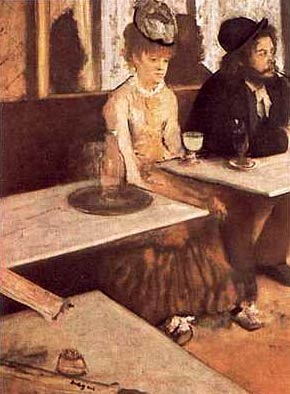 Degas - The Absinthe Drinker (could Jack be a woman?)